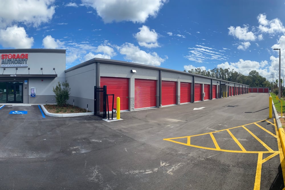 Exterior of Storage Authority Land O' Lakes in Land O' Lakes, Florida
