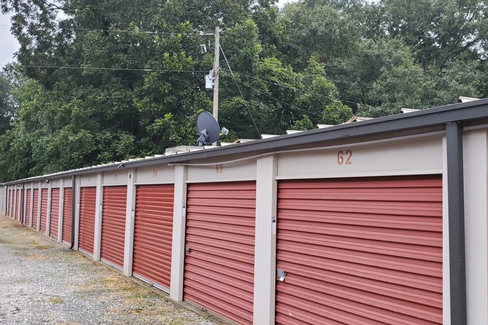 Storage units at StayLock Storage in Athens, Georgia