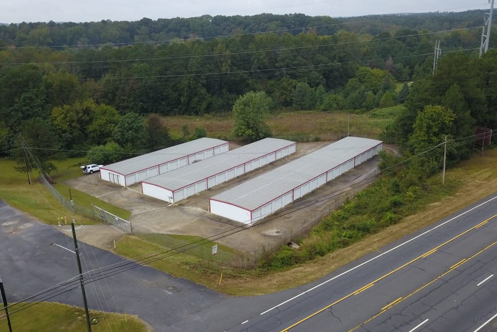 A view of StayLock Storage in Athens, Georgia