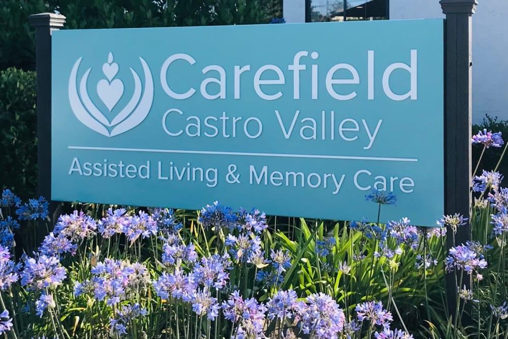 Carefield Castro Valley sign in Castro Valley, California