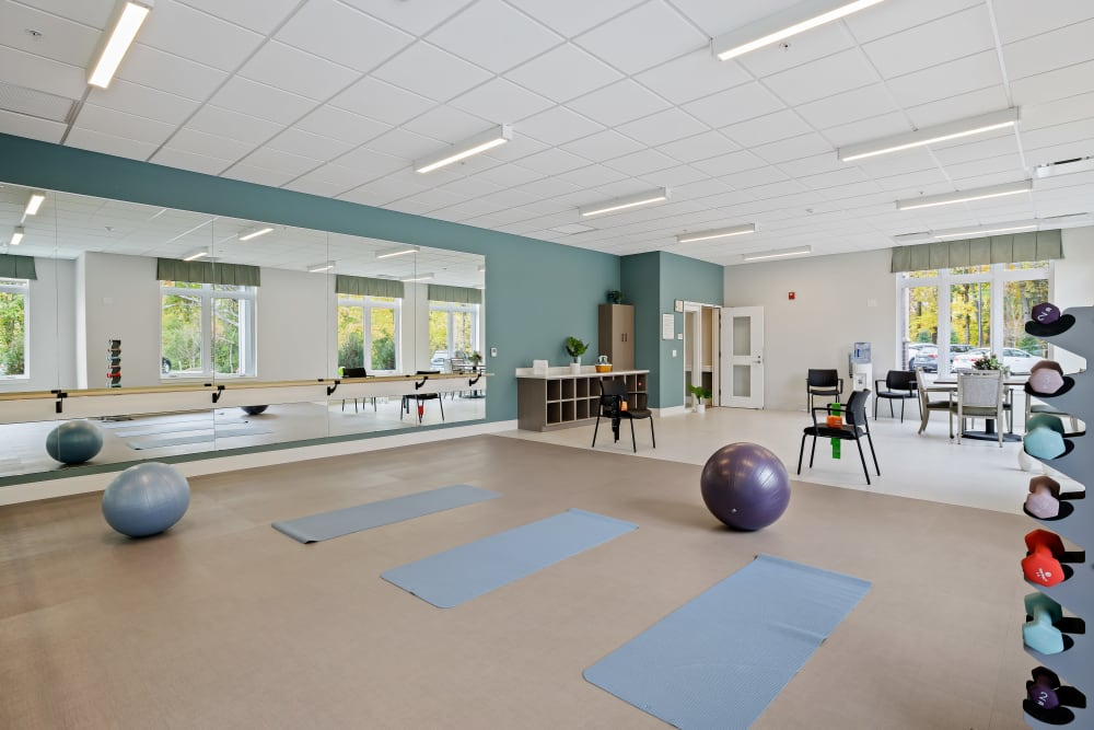 Fitness center at Anthology of Novi- Now Open! in Novi, Michigan