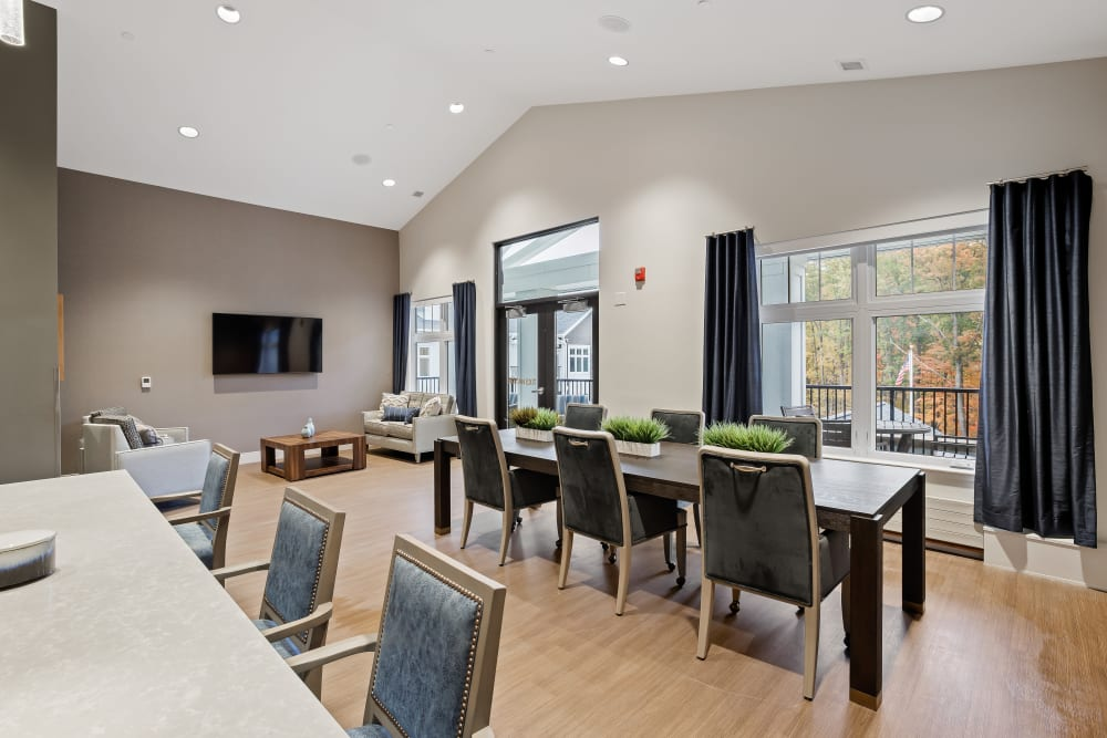 Common space at Anthology of Novi - Now Open community in Novi, Michigan
