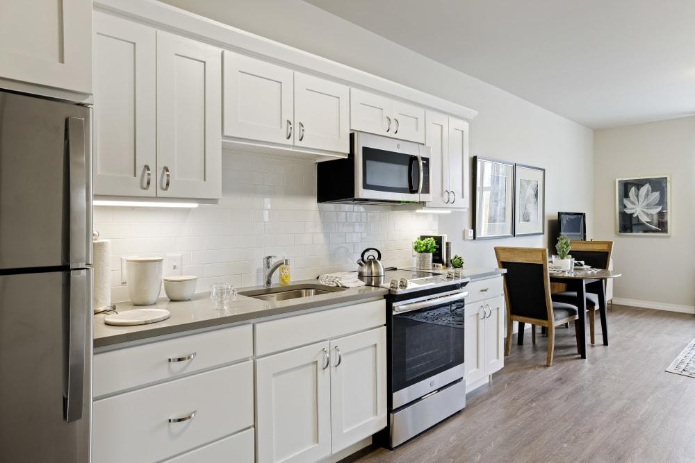 Apartment kitchen at Anthology of Novi- Now Open! in Novi, Michigan