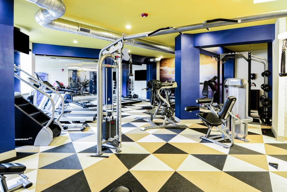 Fitness Center at Steelyard in St. Louis, Missouri