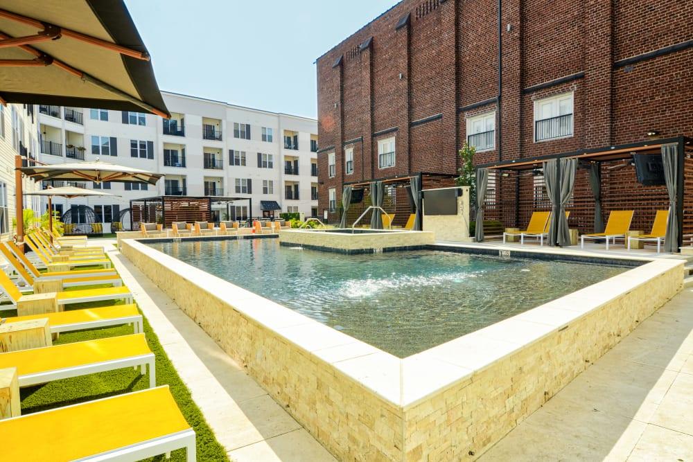 Swimming Pool at Steelyard in St. Louis, Missouri