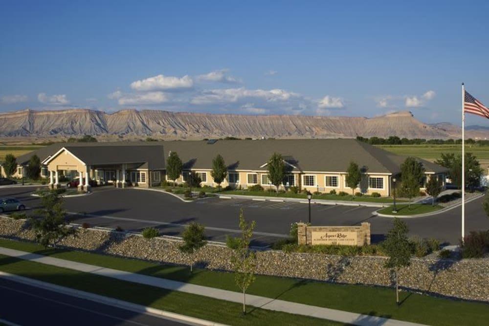 Building at Aspen Ridge Alzheimer's Special Care Center