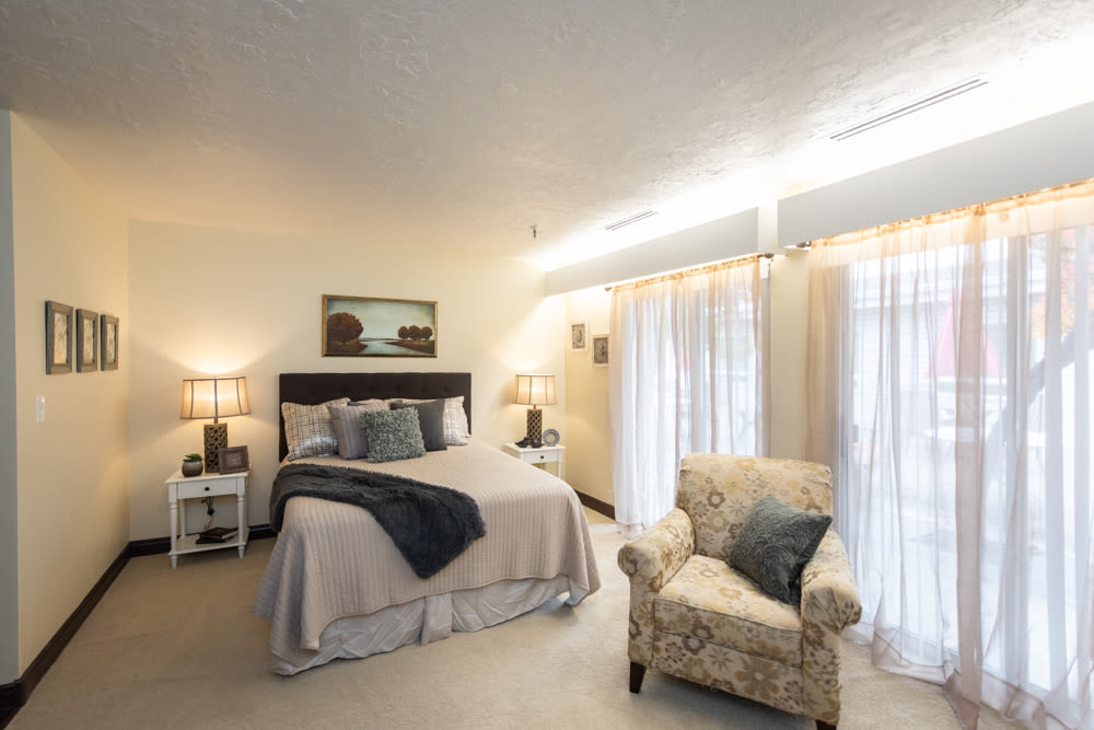 Studio apartment at Heritage Place in Bountiful, Utah