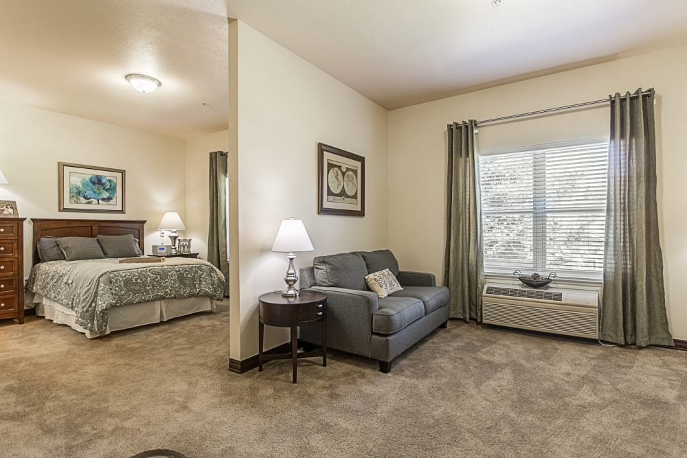 Resident apartment at Orchard Park in Clovis, California