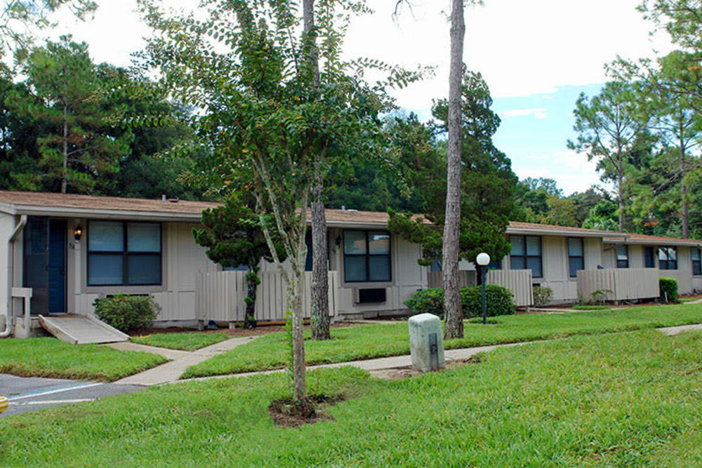Exterior photo of Applewood Apartments in DeLand, Florida