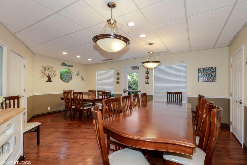 community room at Truewood by Merrill, Taylorsville in Taylorsville, Utah.