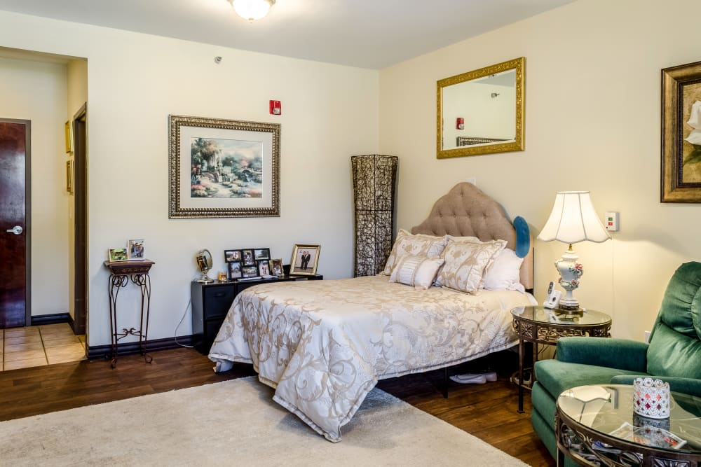 Spacious floor plans at The Gardens in Ocean Springs, Mississippi