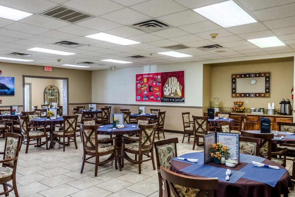 Dining room at Truewood by Merrill, Ocean Springs in Ocean Springs, Mississippi.