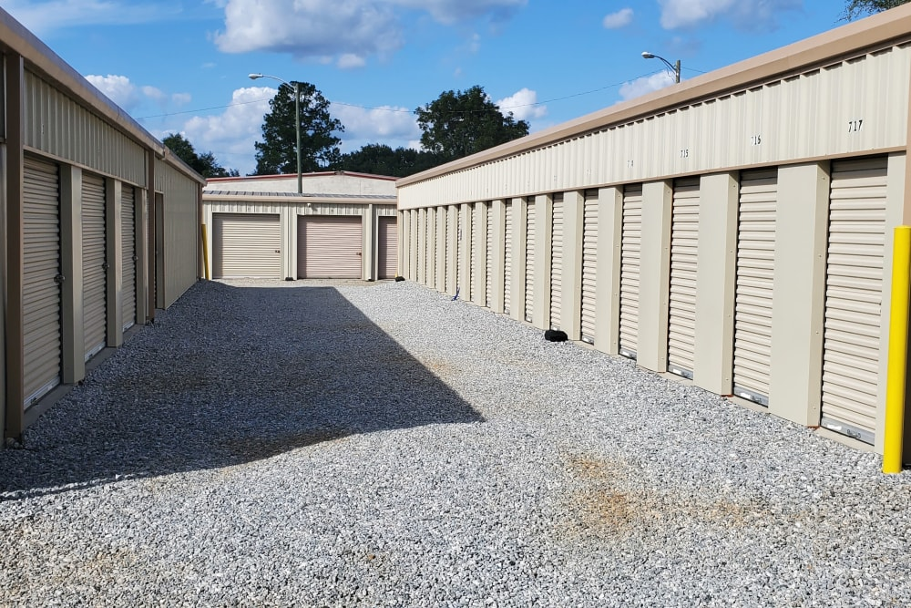 Units at StayLock Storage in Albany, Georgia