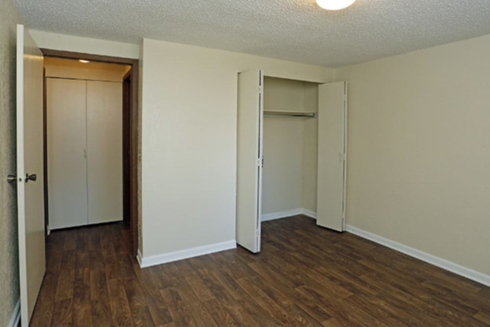 Beautiful hardwood floors at Broadview Oaks Apartments in Pensacola, Florida