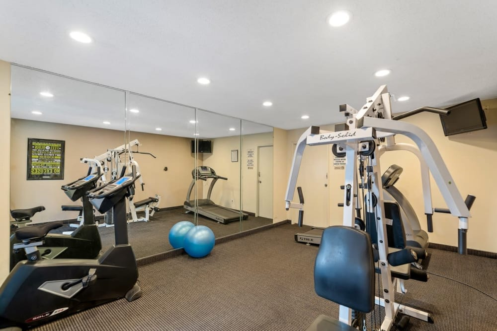 Gym at The Enclave