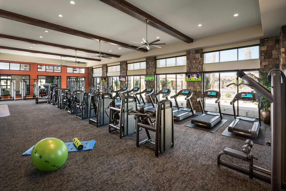 Luxe Fitness Center with Cardio Studio at San Artes in Scottsdale, Arizona