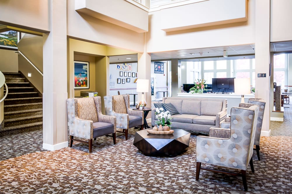 Clubhouse at Evergreen Senior Living in Eugene, Oregon