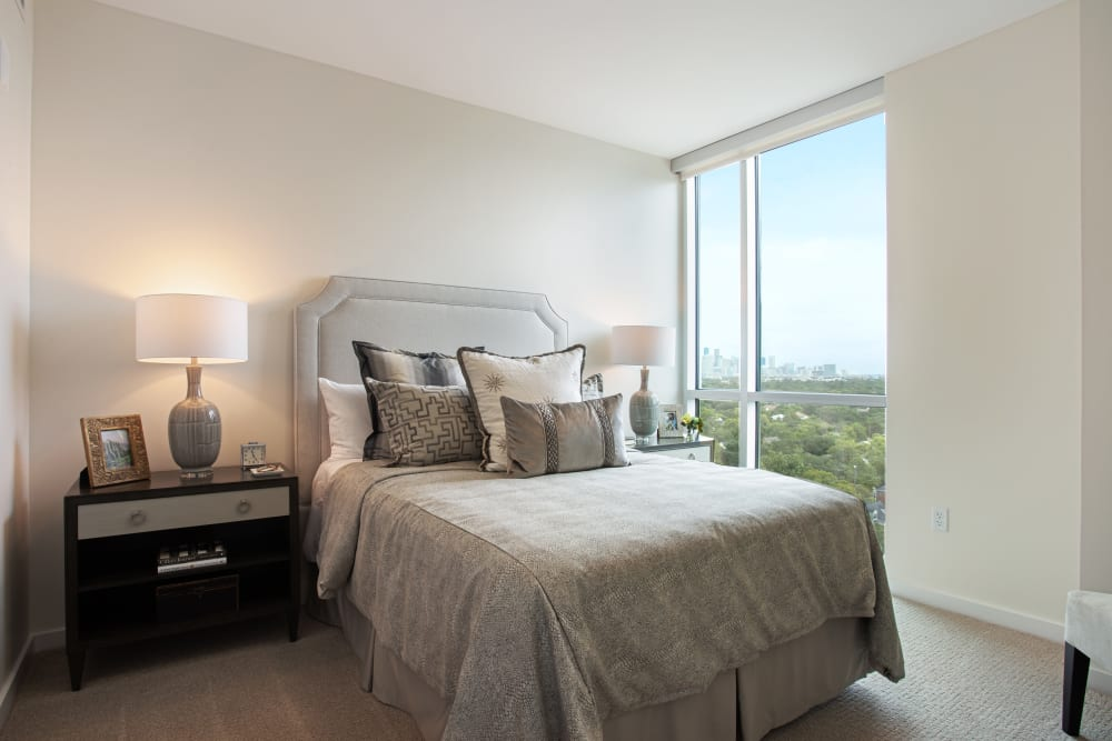 Independent Living Model Bedroom at  The Village of Southampton
