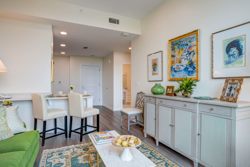 Assisted Living 1 Bed/1 Bath Model at  The Village of Southampton