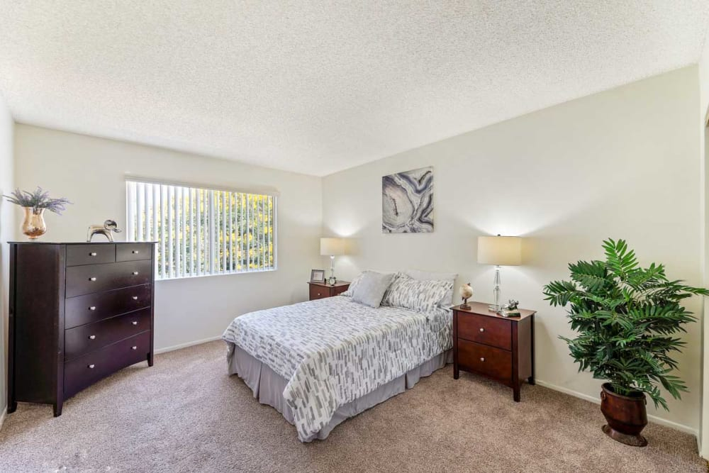 Bedroom at The Parkview in Lake Balboa, California