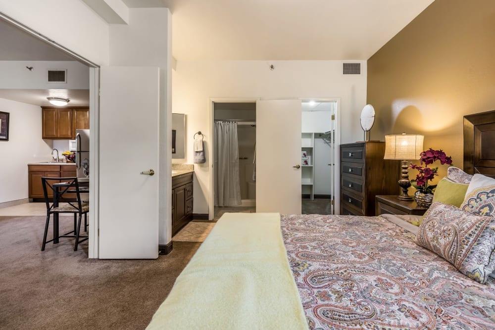 Open floor plans at Chateau Brickyard in Salt Lake City, Utah.