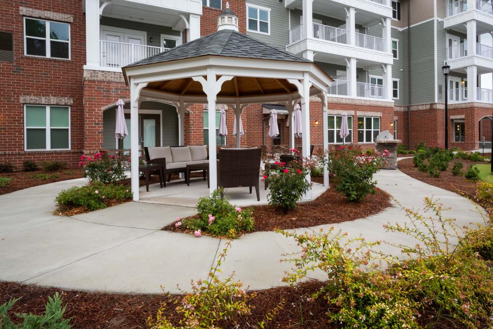 Courtyard at Harmony at Savannah in Savannah, Georgia