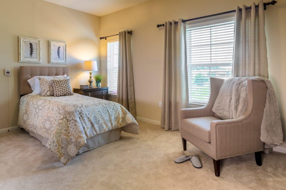 Harmony Senior Services Bedroom