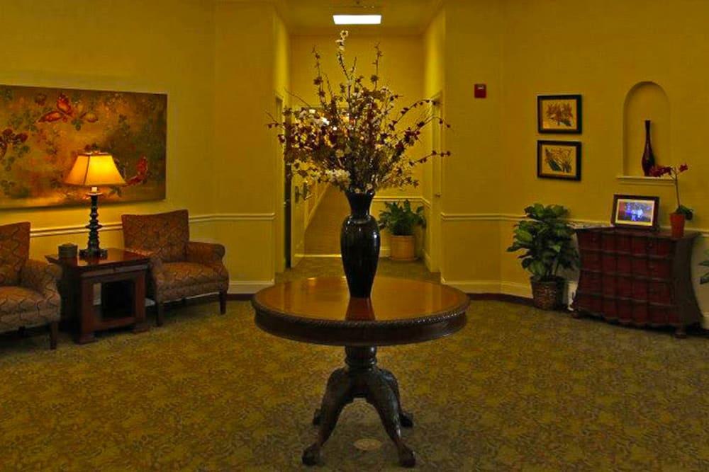A vase at Grand Villa of Palm Coast in Palm Coast, Florida