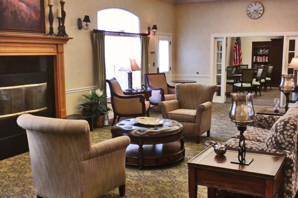 The lounge at Grand Villa of Palm Coast in Palm Coast, Florida