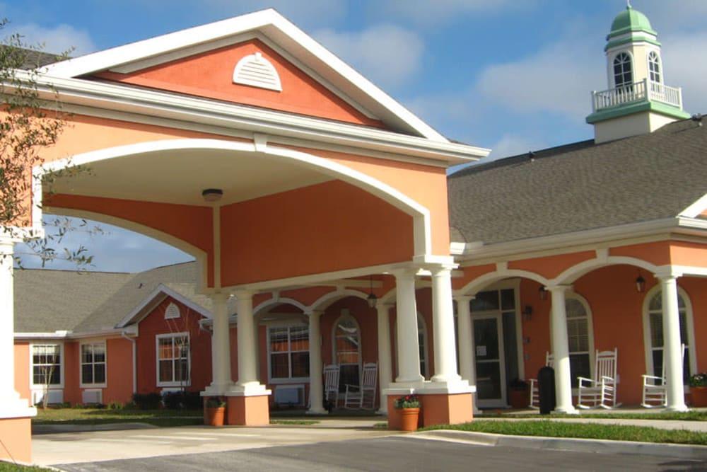Front entrance at Grand Villa of Palm Coast in Palm Coast, Florida