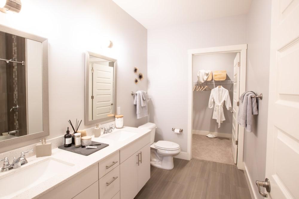 Bathroom with a walk-in closet at 511 Meeting in Charleston, South Carolina