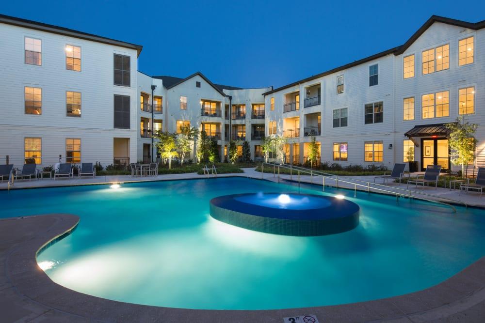 Swimming pool at The Blake at The Grove in Baton Rouge, Louisiana