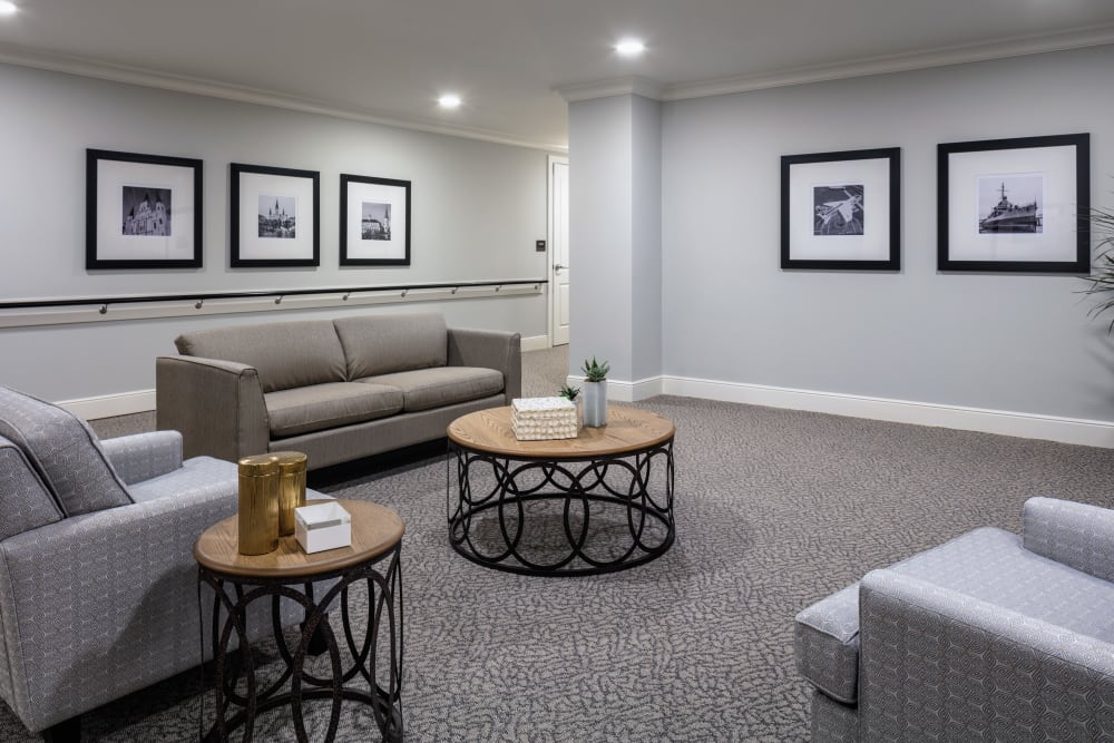 Area for residents to enjoy at The Blake at The Grove in Baton Rouge, Louisiana