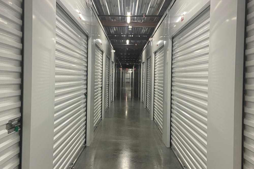 The climate controlled storage units at Storage Units in Kissimmee, Florida