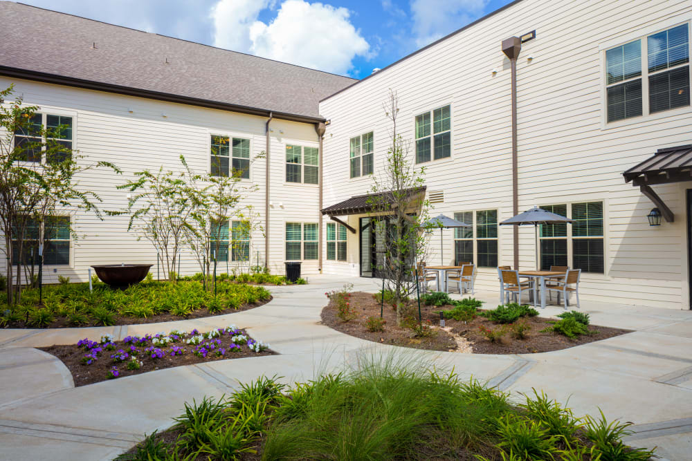 Courtyard at The Blake at The Grove in Baton Rouge, Louisiana
