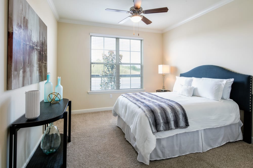 Bedroom at The Blake at The Grove in Baton Rouge, Louisiana