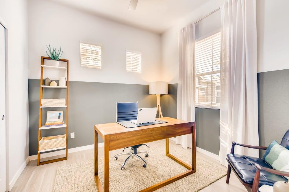 Office room at Avilla Prairie Center in Brighton, Colorado