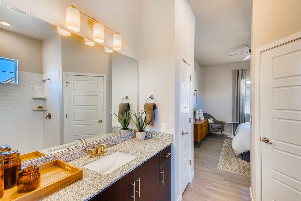 Bathroom at Avilla Prairie Center in Brighton, Colorado
