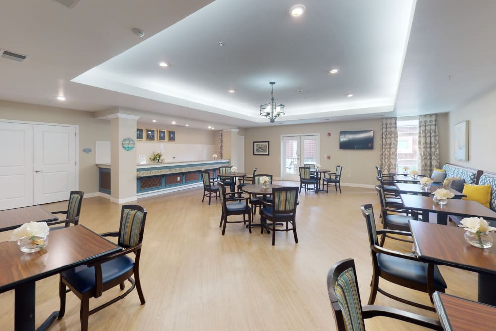 Pub and bistro at Harmony at Oakbrooke in Chesapeake, Virginia