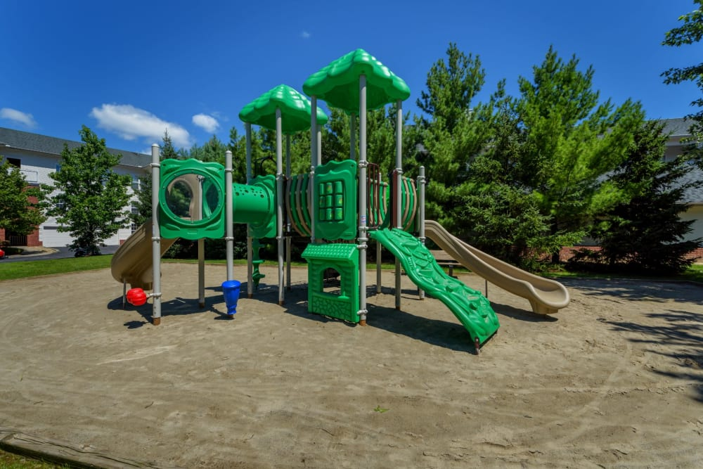 Kids playground at Christopher Wren Apartments & Townhomes in Wexford, Pennsylvania