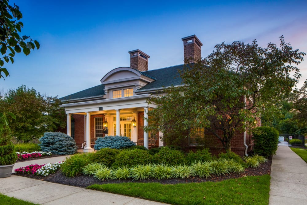 Clubhouse at The Preserve at Beckett Ridge Apartments & Townhomes in West Chester, Ohio
