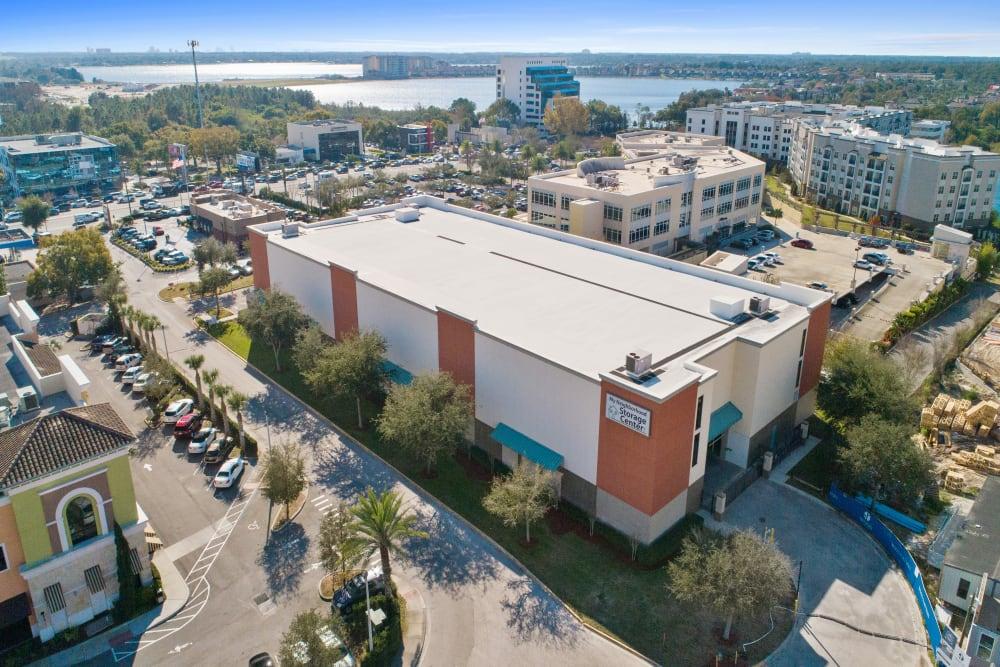 Aerial view of My Neighborhood Storage Center