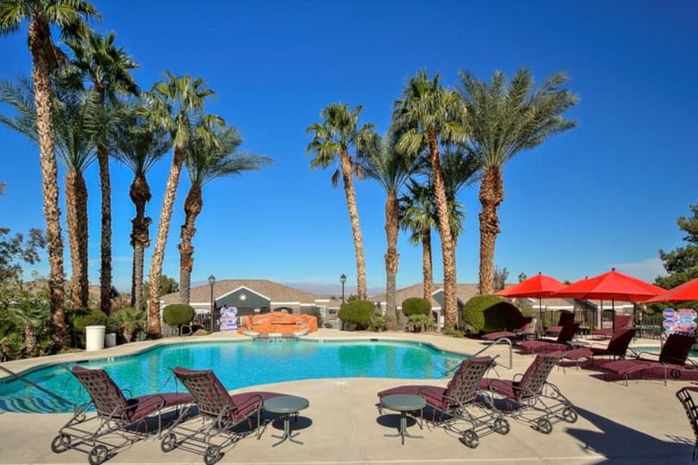 Enjoy Apartments with a Swimming Pool at Cielo Apartment Homes in Henderson, Nevada