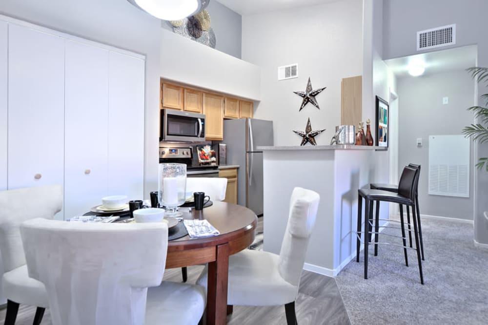 Kitchen& Dining Area at Mariner at South Shores in Las Vegas, Nevada