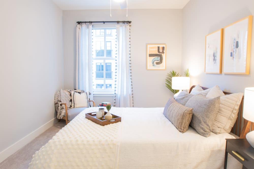 Cozy spacious bedroom at 511 Meeting in Charleston, South Carolina