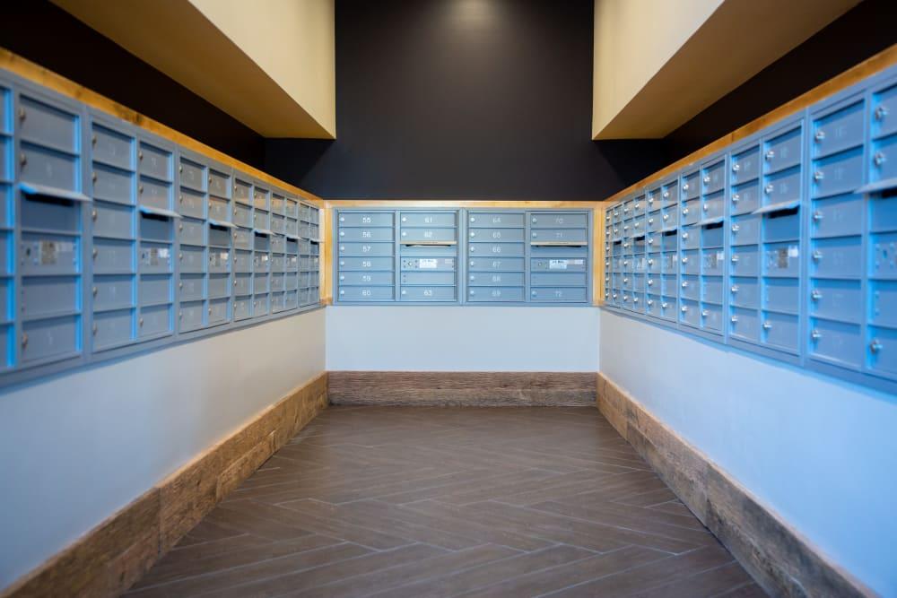 Mail center at 511 Meeting in Charleston, South Carolina