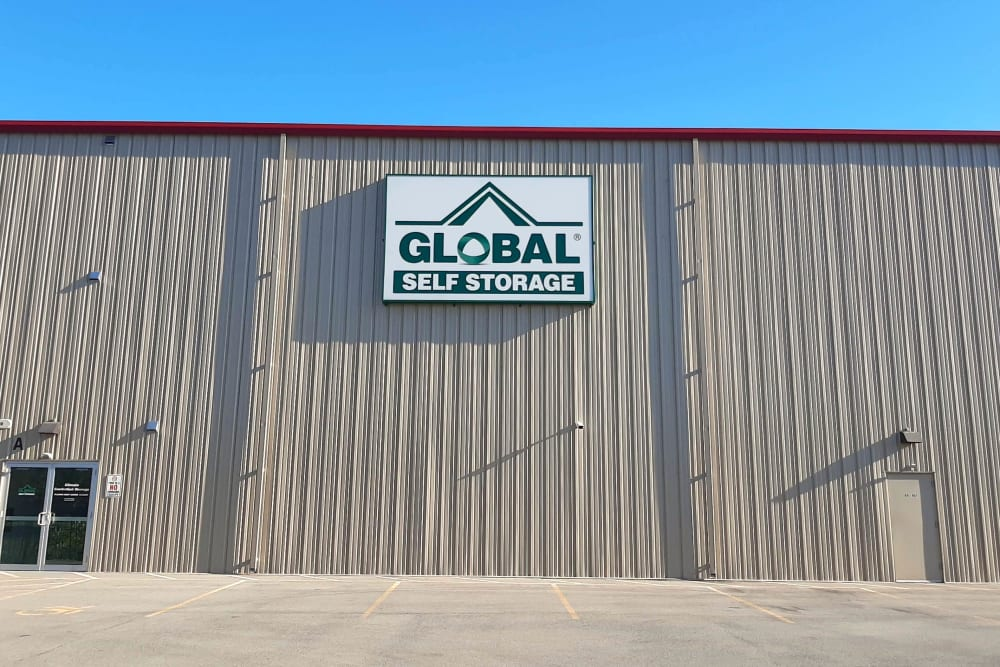 Exterior of our facility at Global Self Storage in West Henrietta, New York