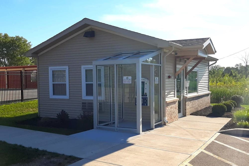 Exterior of our office at Global Self Storage in West Henrietta, New York