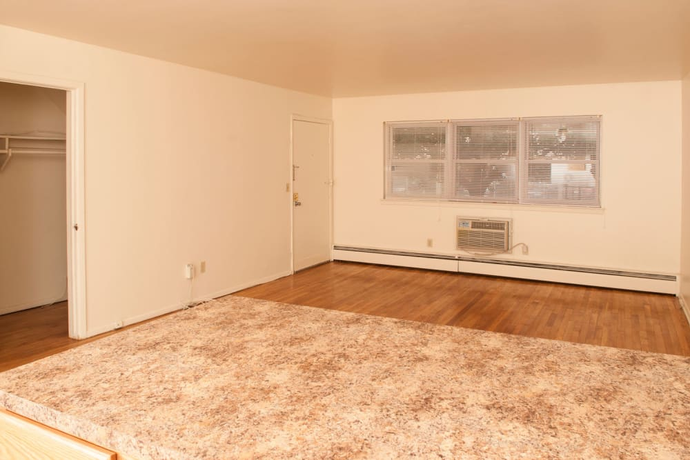 Cute studio apartment area at 84-90 Essex Street in Hackensack, New Jersey