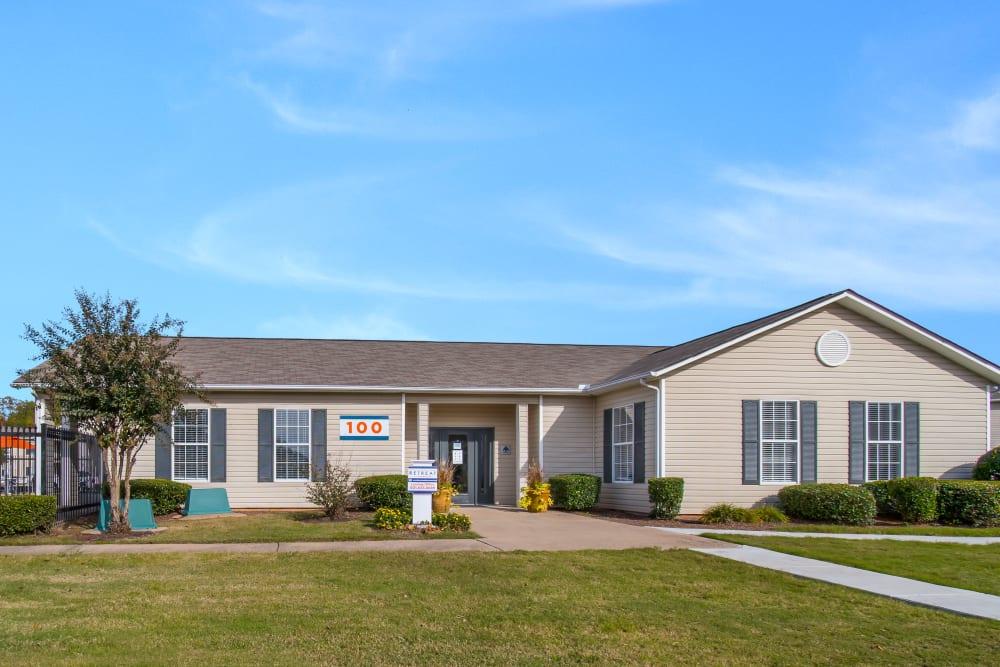 Entrance to The Retreat at Sherwood in Sherwood, Arkansas